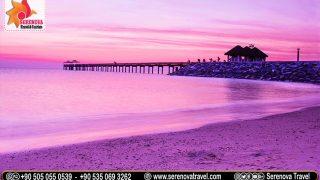السياحة-في-بودروم-الشاطئ-الأرجواني-