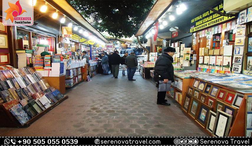 سوق الكتب في اسطنبول