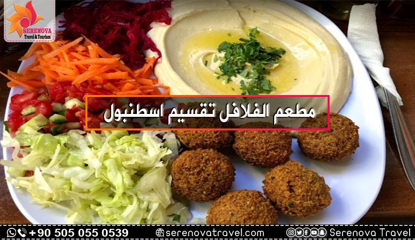 مطعم الفلافل تقسيم اسطنبول