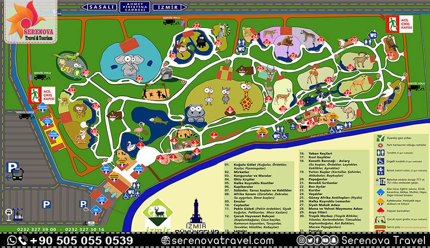 حديقة الحيوانات في ازمير